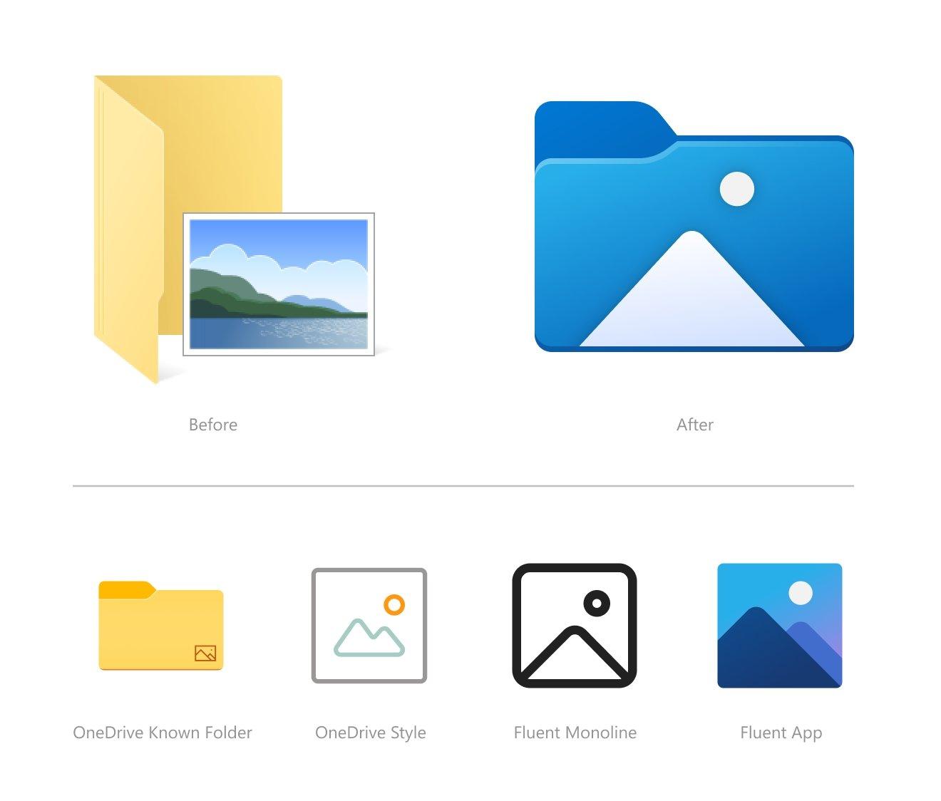 novos ícones windows