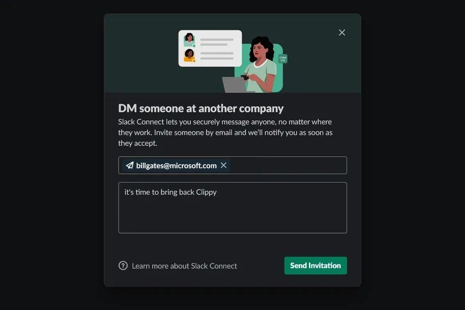Slack DM