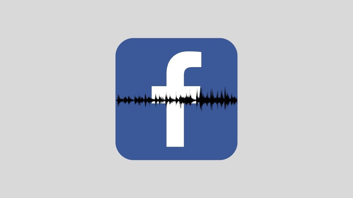Facebook áudio