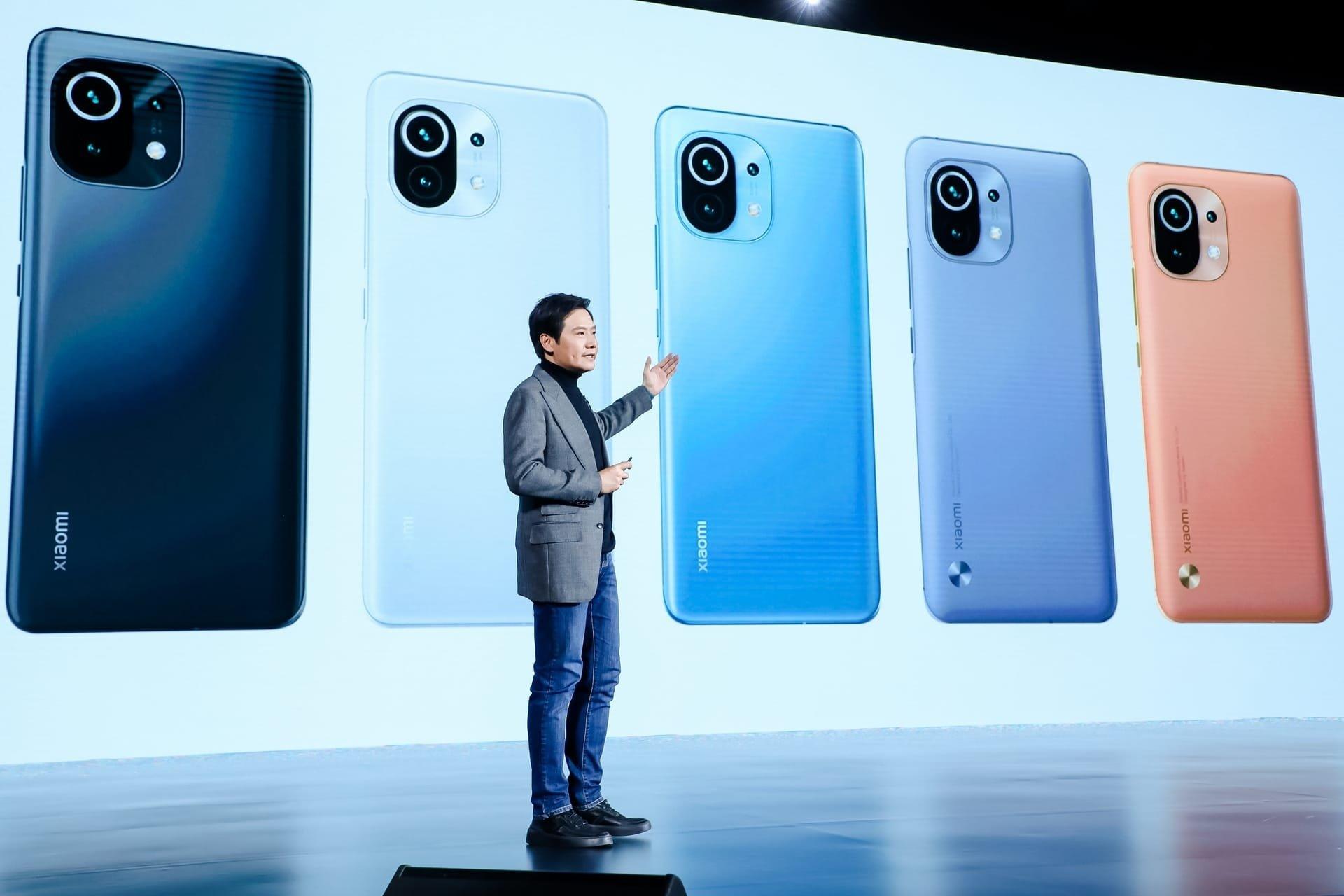 Xiaomi smartphones marca