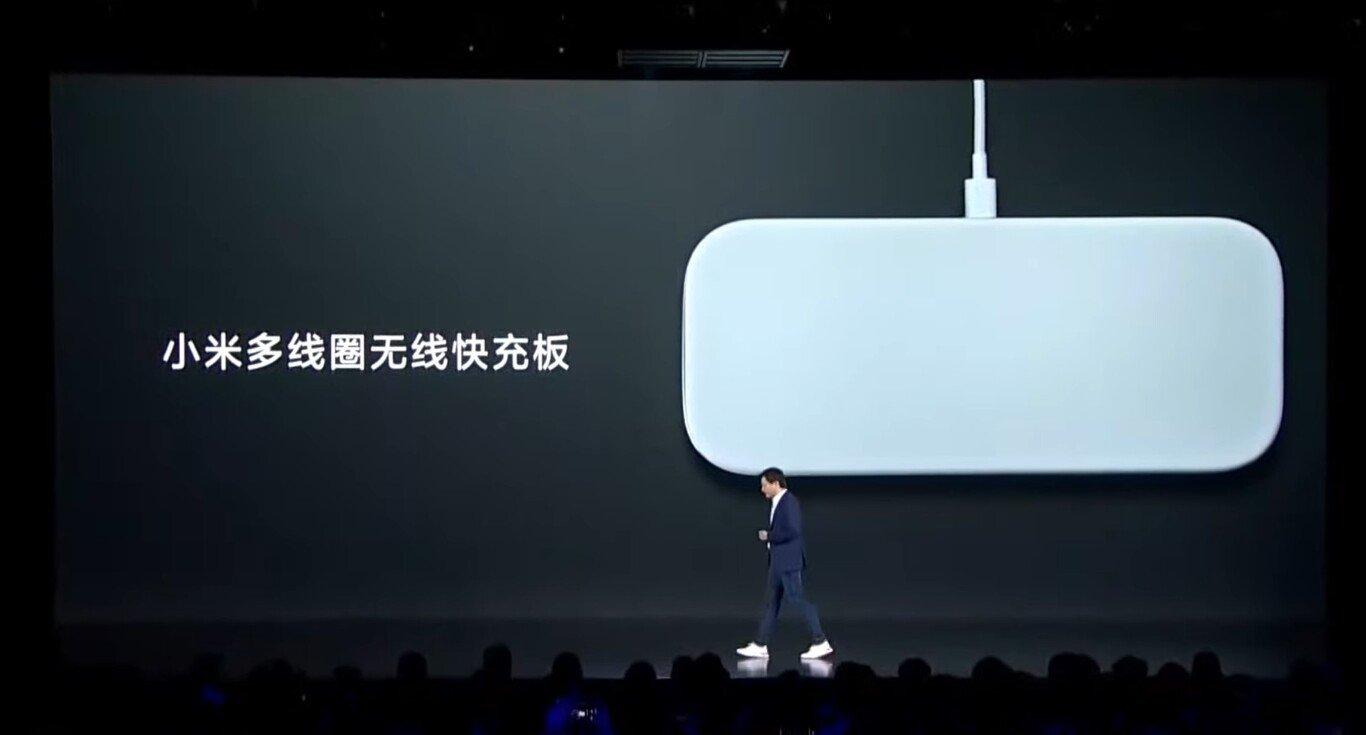Xiaomi base carregamento sem fios