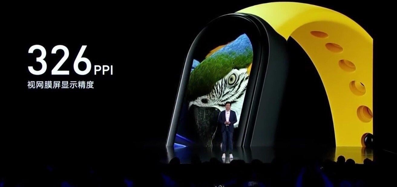 ecrã de maiores dimensões