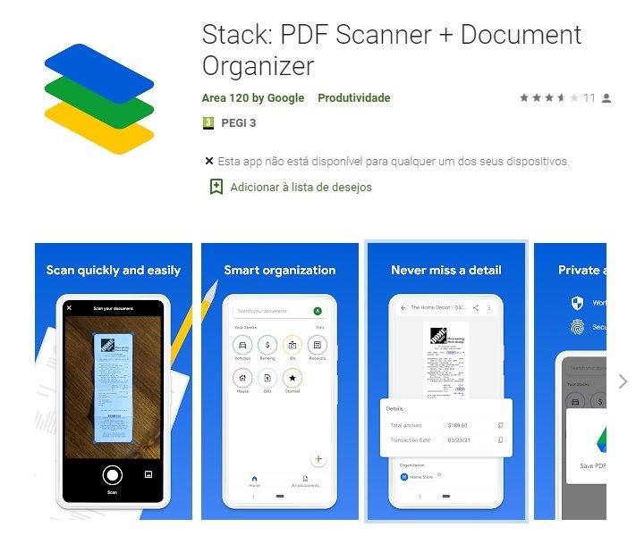 Stack Google area 120