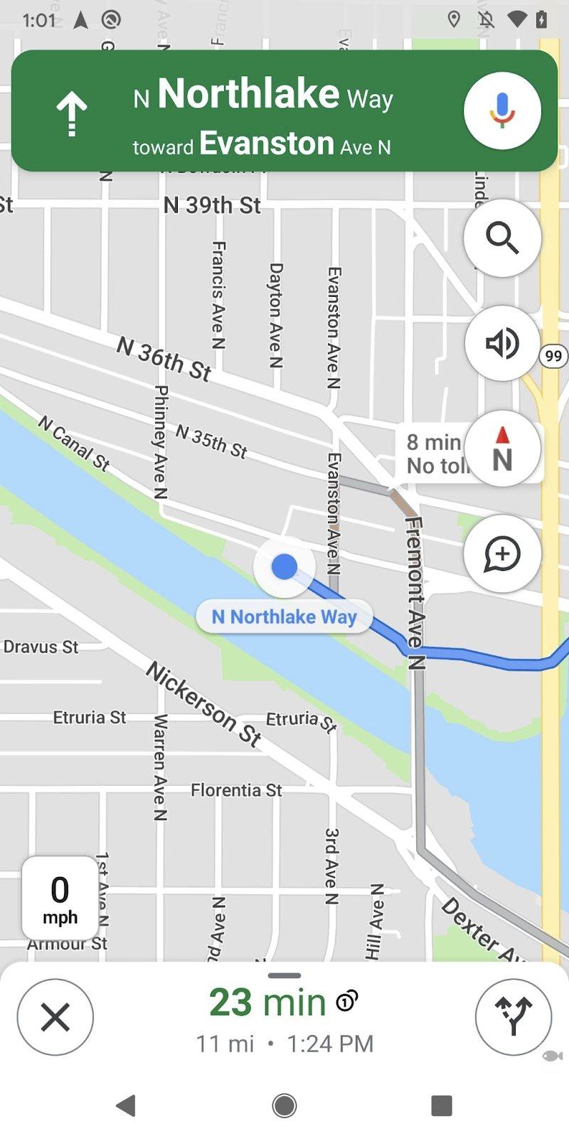 compasso da google Maps
