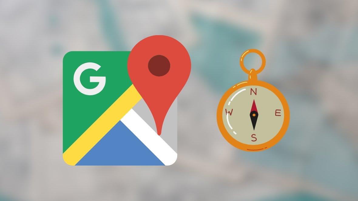 Google Maps compasso