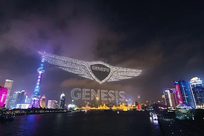 Drone show Genesis
