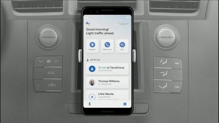 Google assistente modo de condução