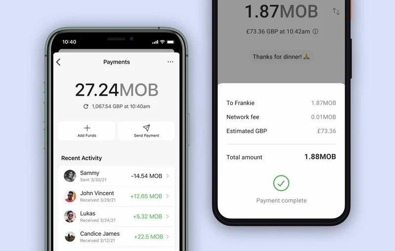 Signal app pagamentos criptomoedas
