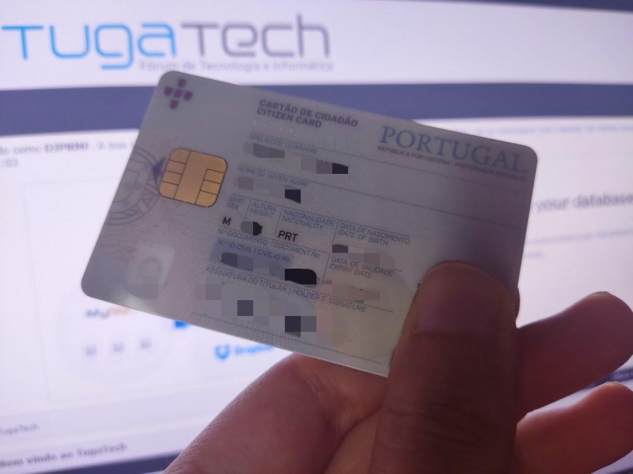 cartão de cidadão Portugal