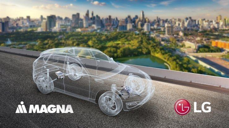 LG e Magna