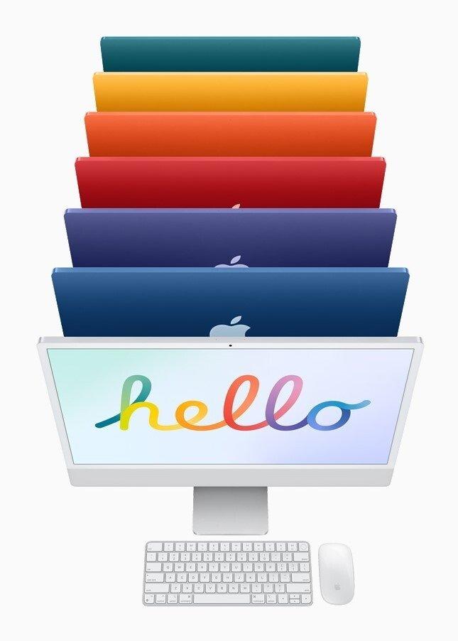 novas cores imac apple 2021