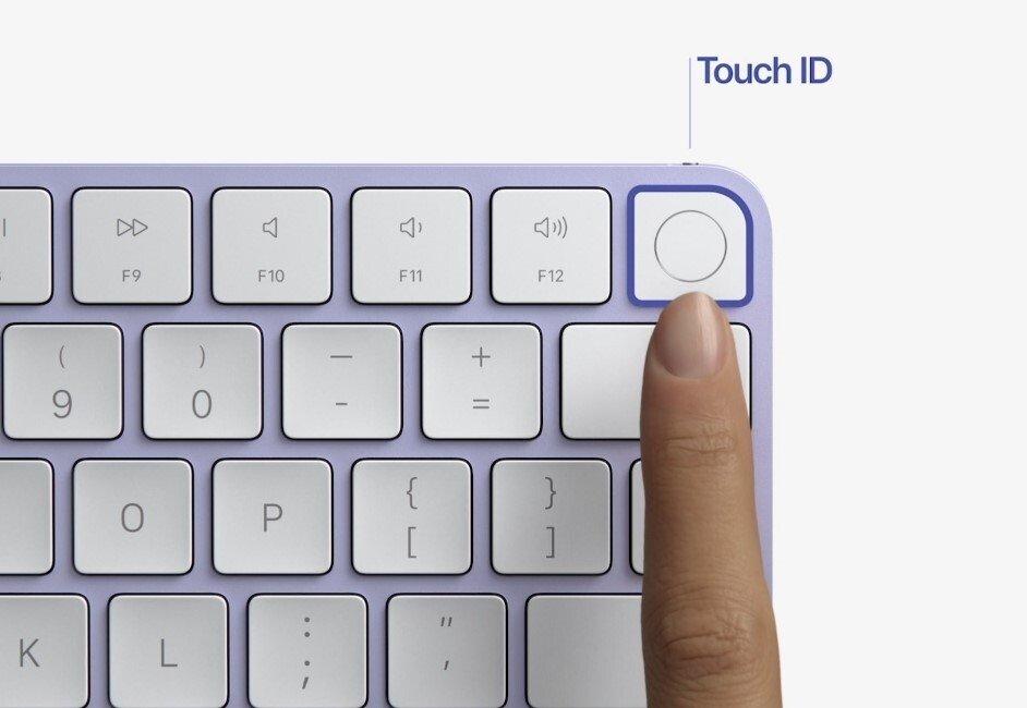 touch id no teclado magic