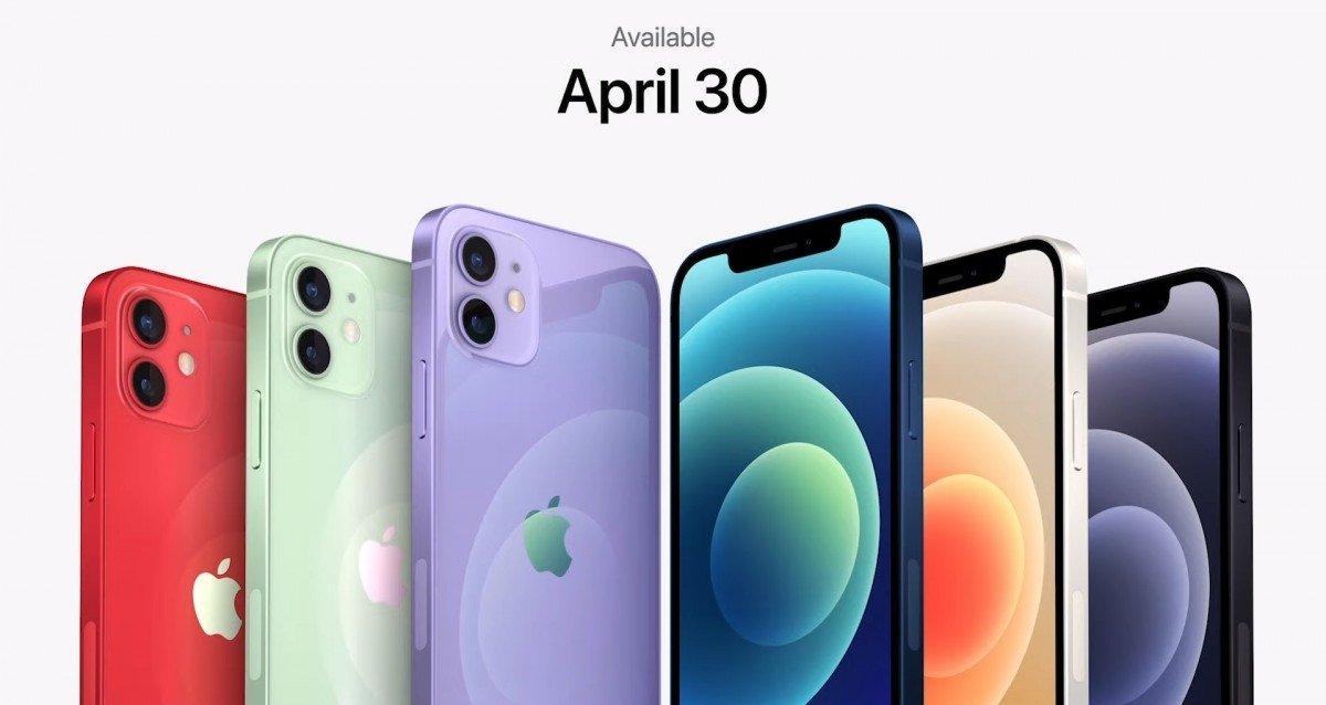 novas cores iPhone 12