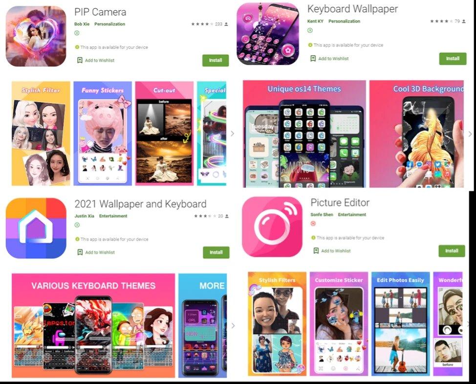 apps maliciosas na play store