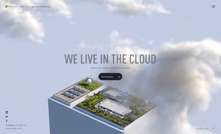 Microsoft centros de dados cloud