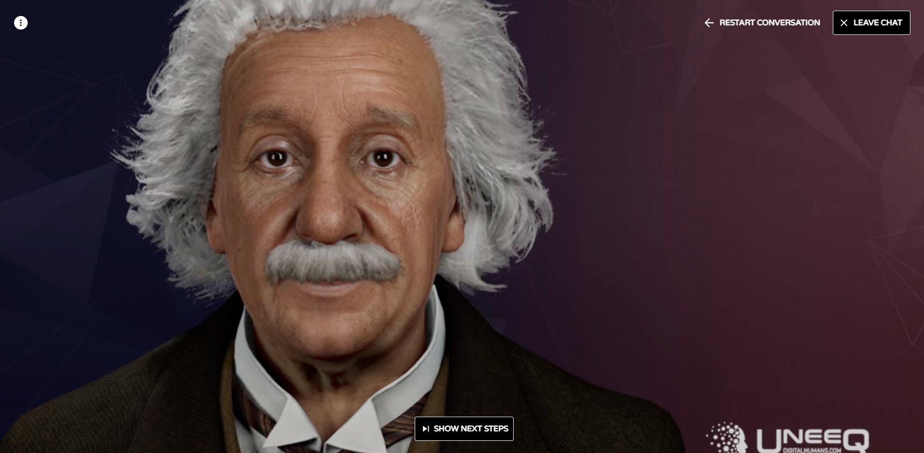 Digital Einstein experience