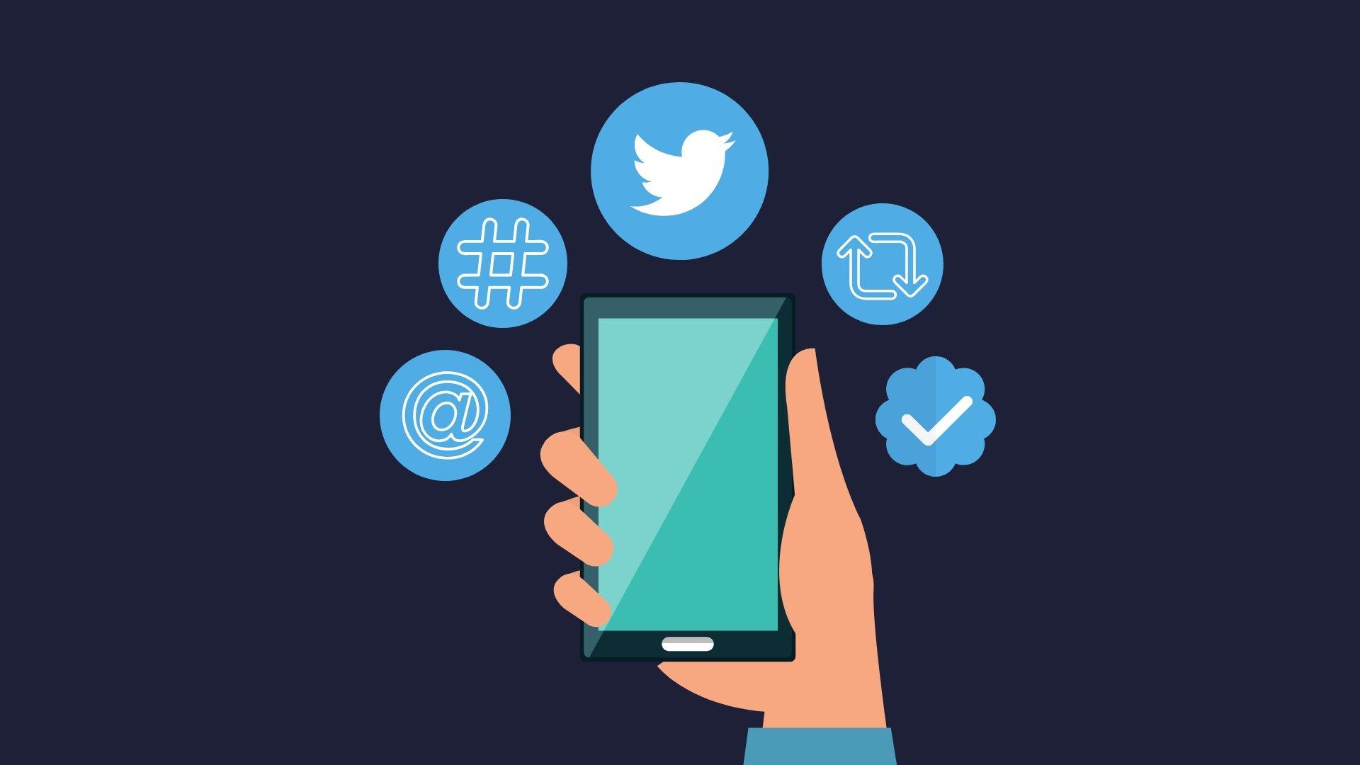 Twitter rede social partilhas