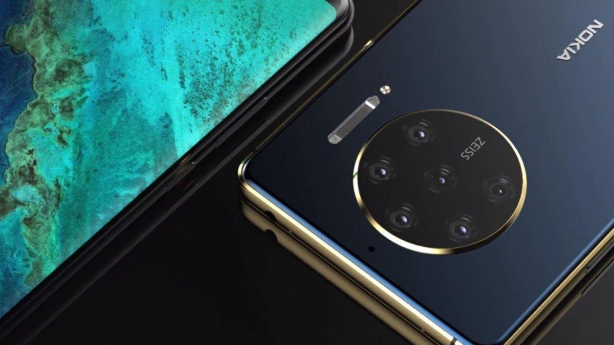 Nokia smartphone e câmaras traseiras