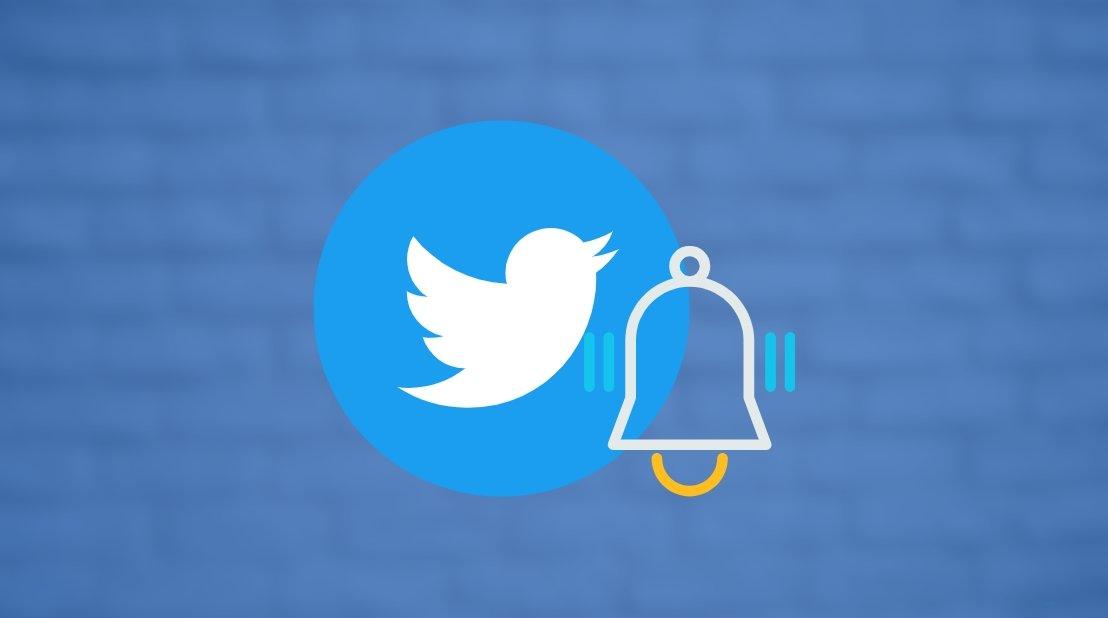 Twitter alertas