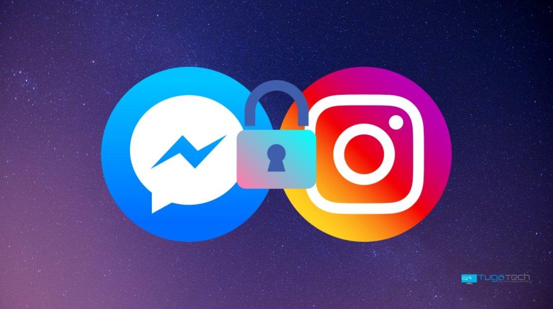 Instagram e Messenger com encriptação