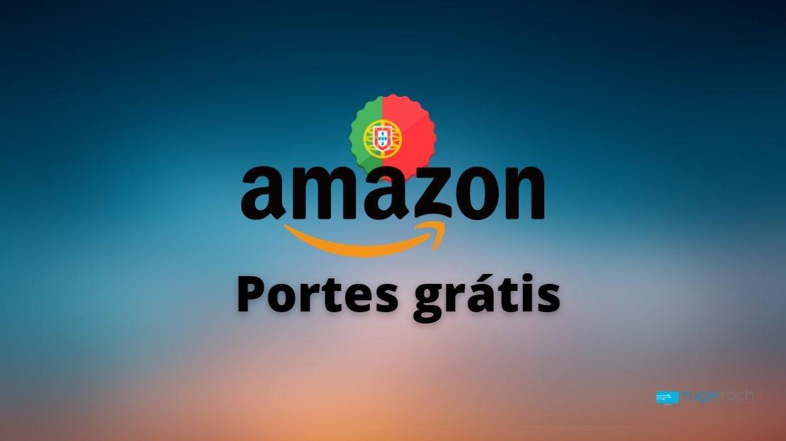 Amazon Prime portes portugal