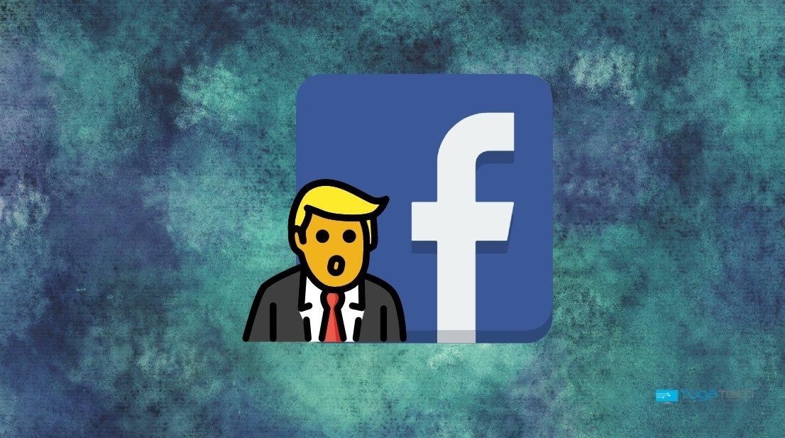 Donald Trump no Facebook