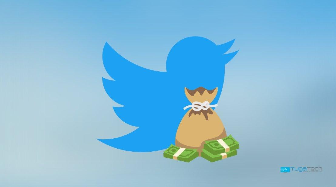 Twitter doações em perfis da plataforma