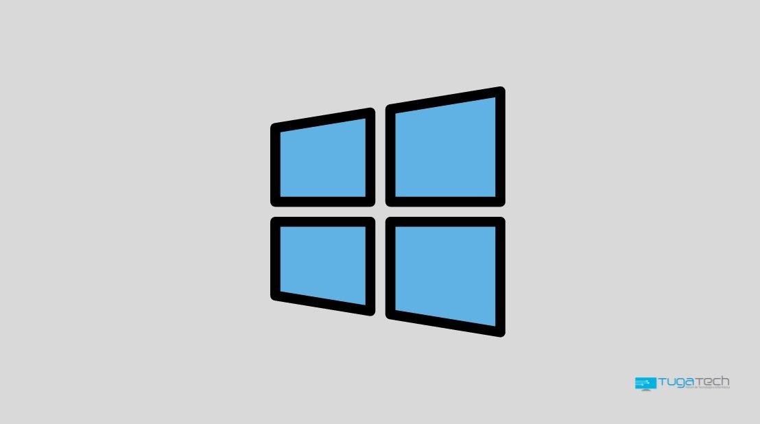 Windows 10 logo janela