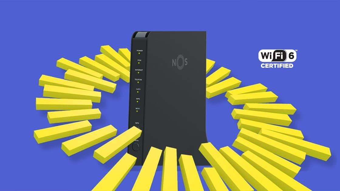 NOS GIGA router wi-fi 6