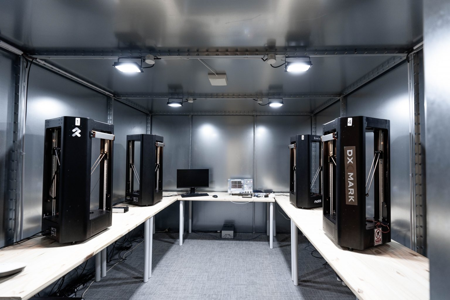 salas de teste de bateria da dxomark