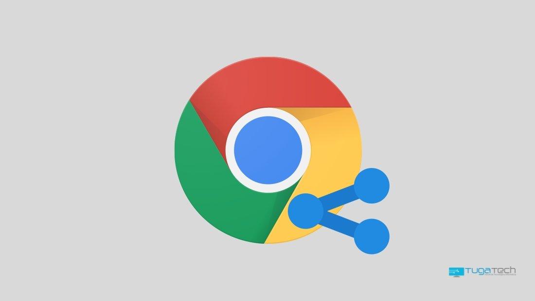 Google Chrome partilha