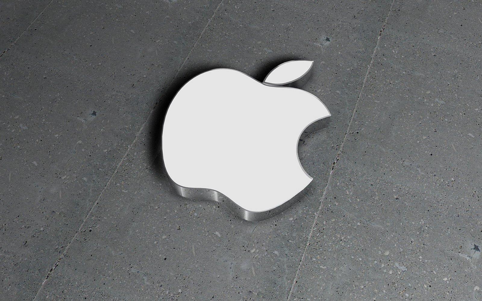 Apple logo em 3D
