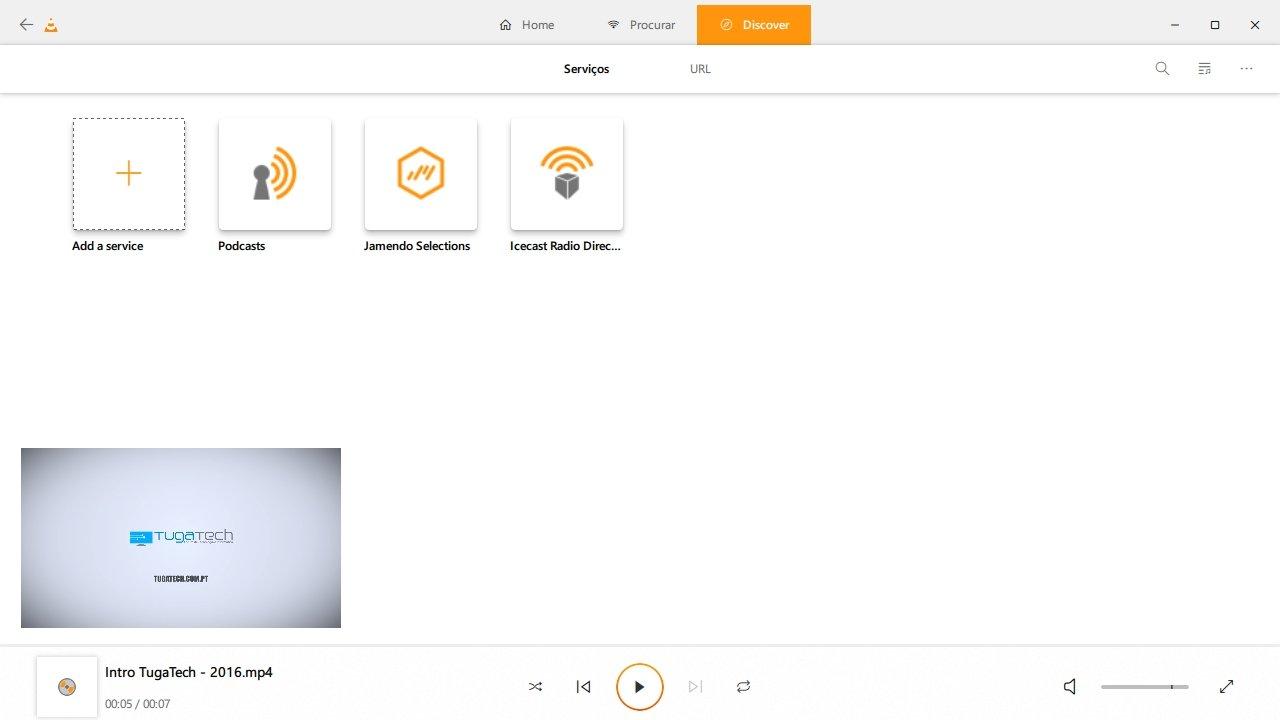 VLC nova interface