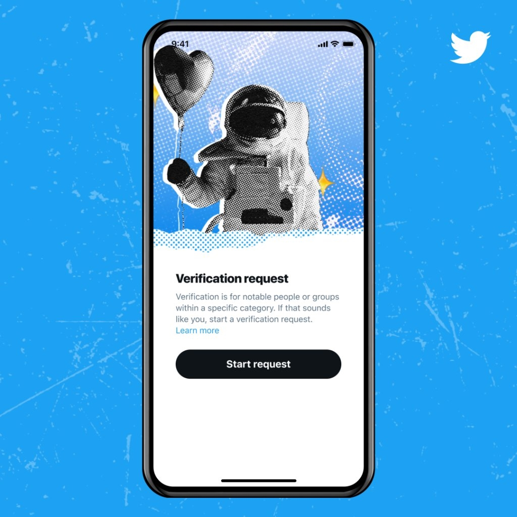 verificação do twitter