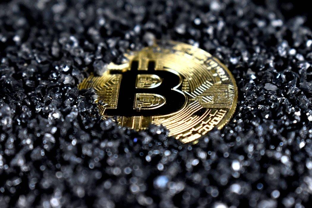 Bitcoin moeda a afundar