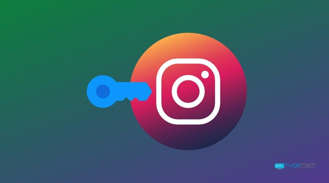 Instagram código de autenticação