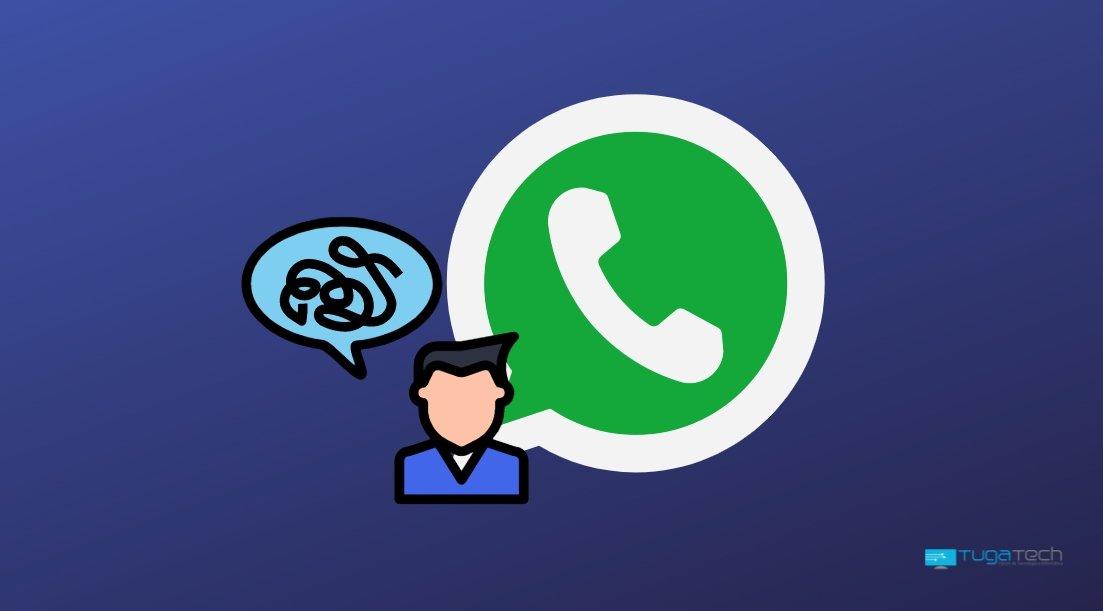 WhatsApp confusão