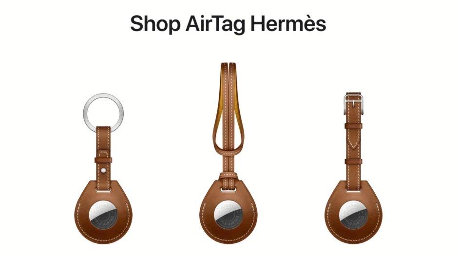 Apple AirTag Hermès