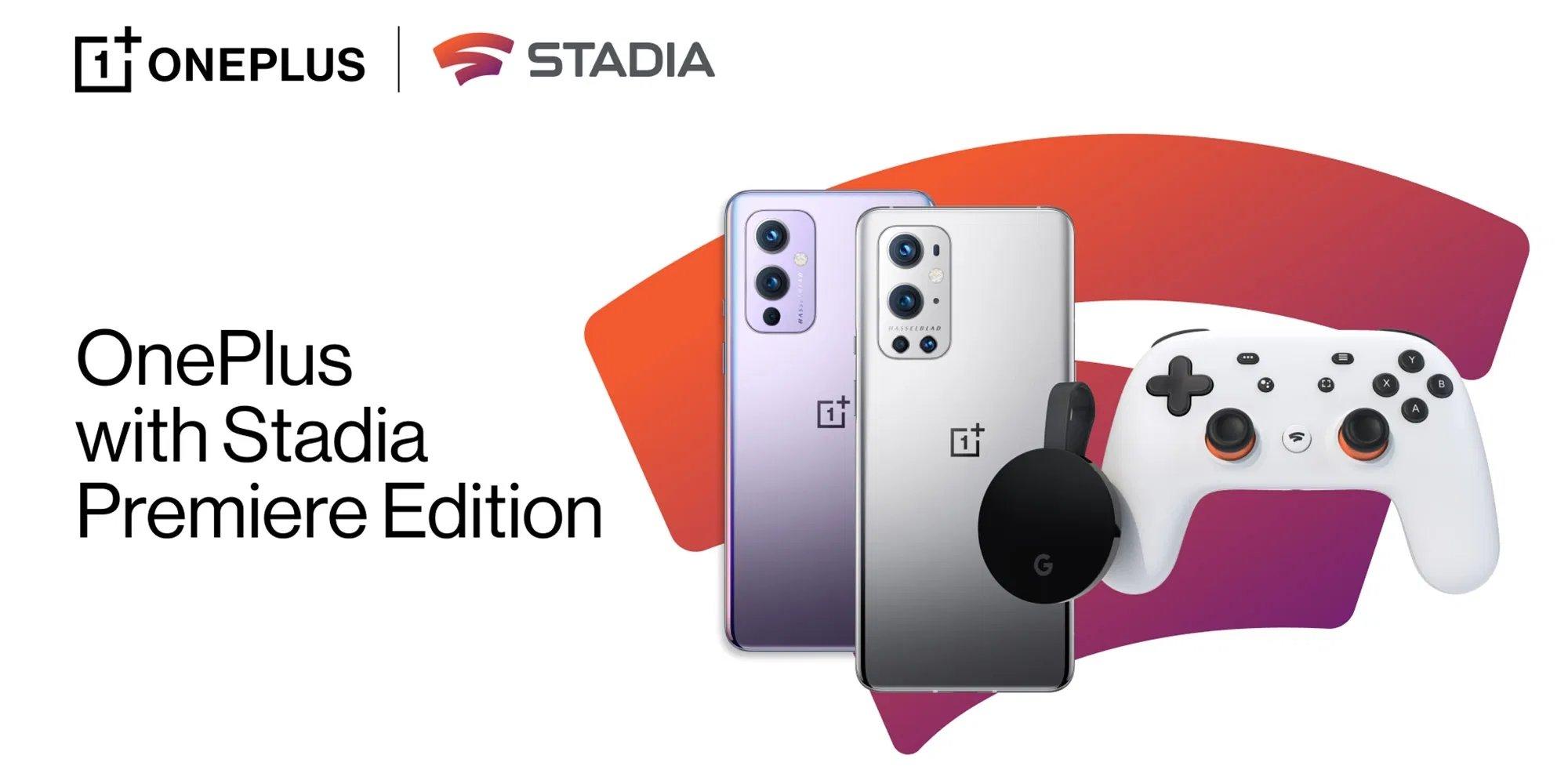 OnePlus stadia promoção