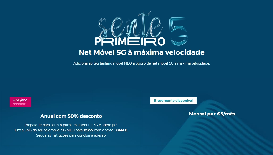 redes 5g meo