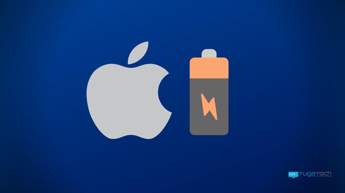 Apple iOS bateria