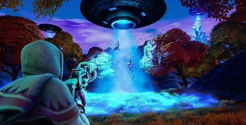 Fortnite aliens