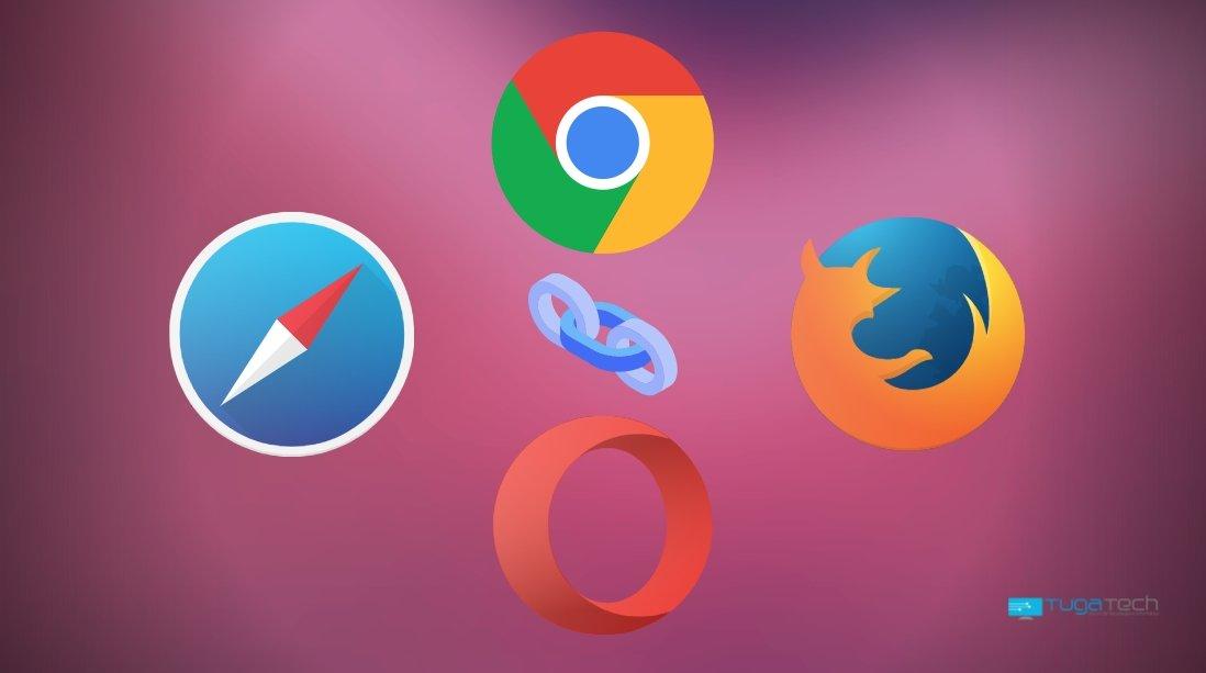 Chrome e Firefox e Opera e Safari