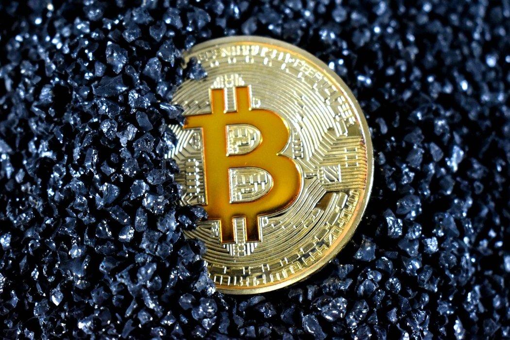 Bitcoin a afundar