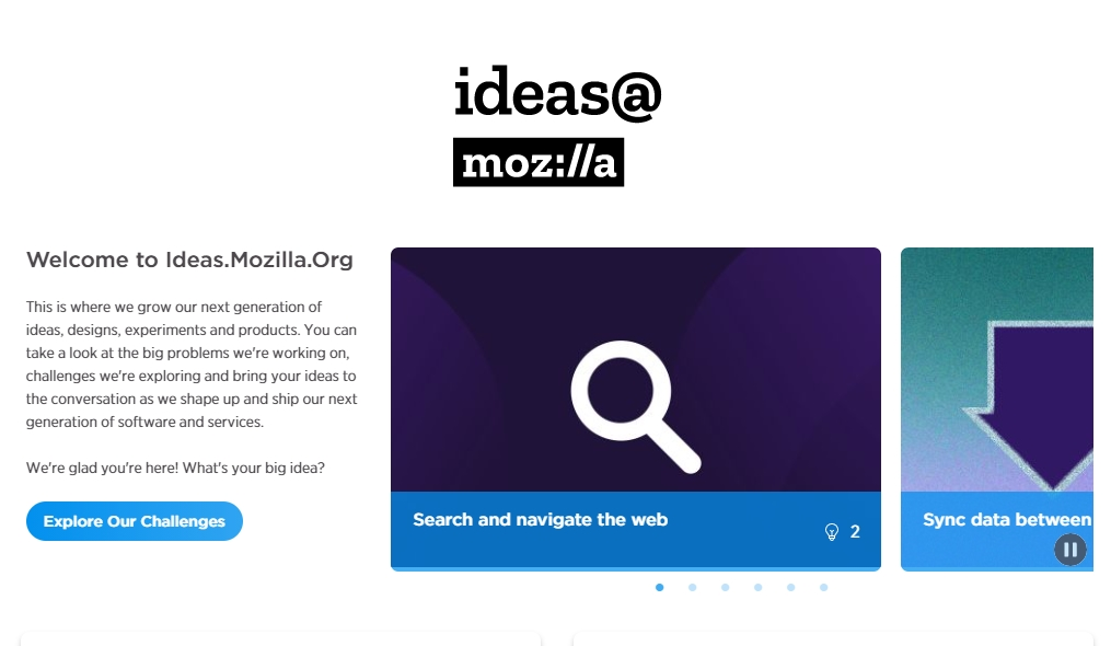 Mozilla ideas