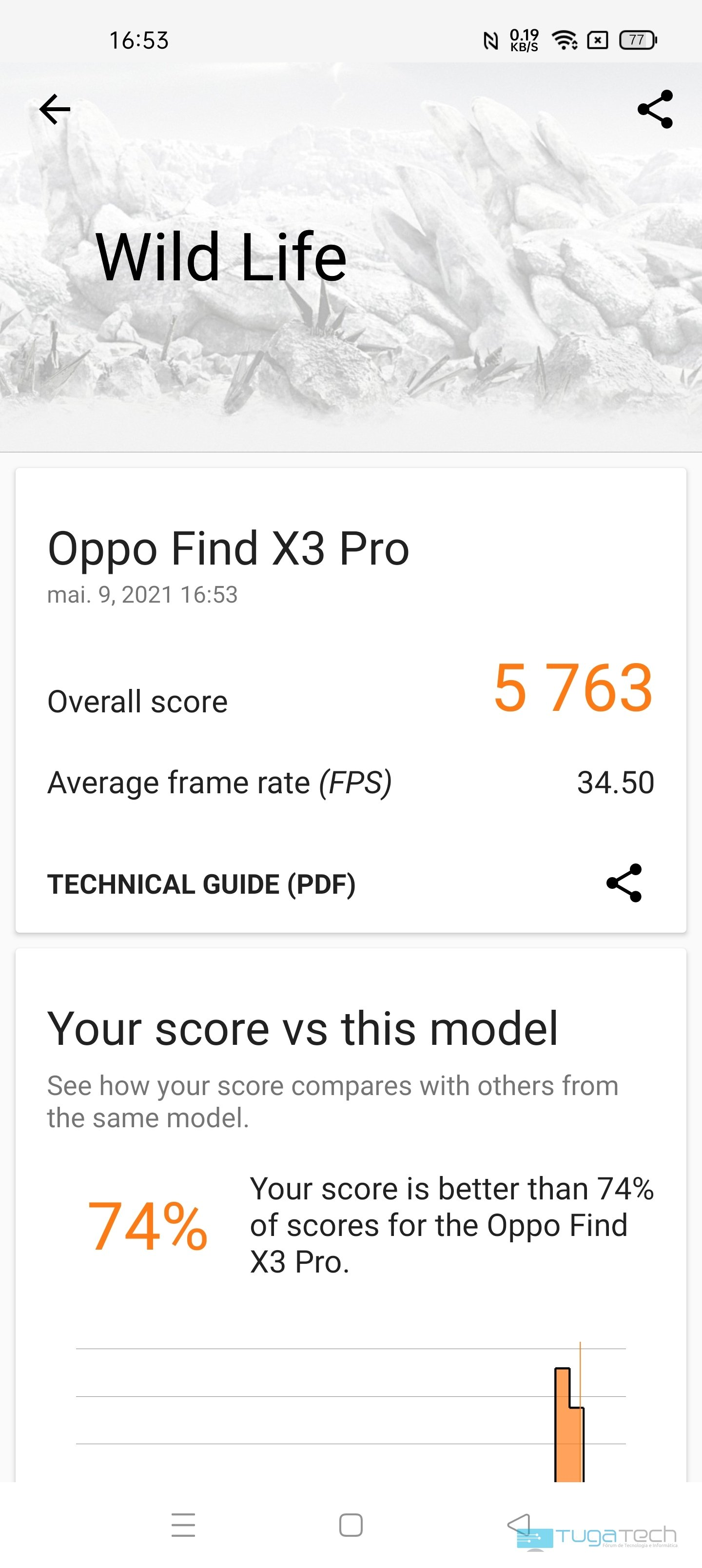 benchmark find x3 pro