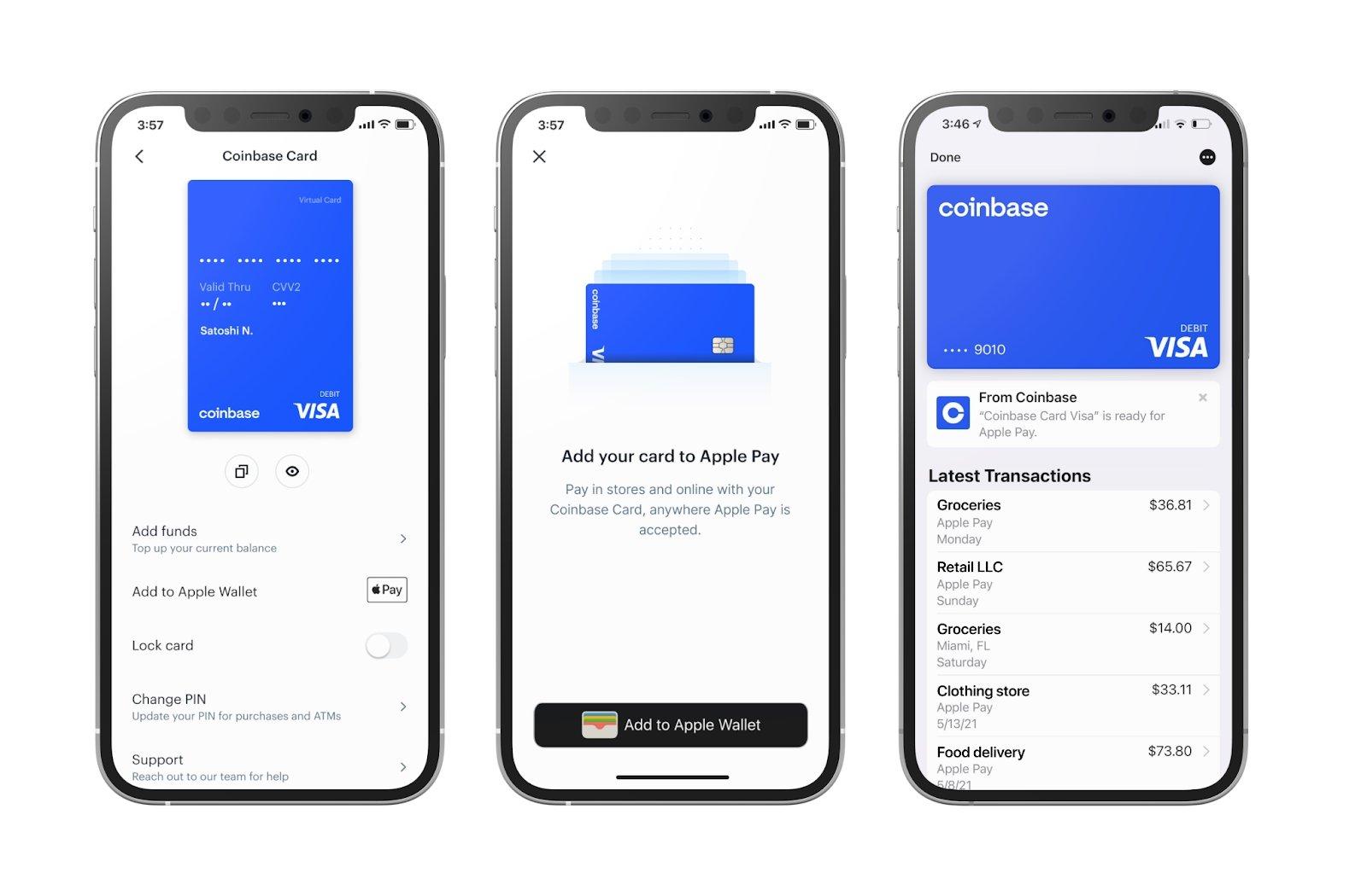 Google e Apple Pay cartão