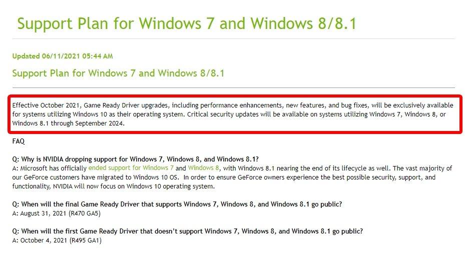 Windows 7 Nvidia