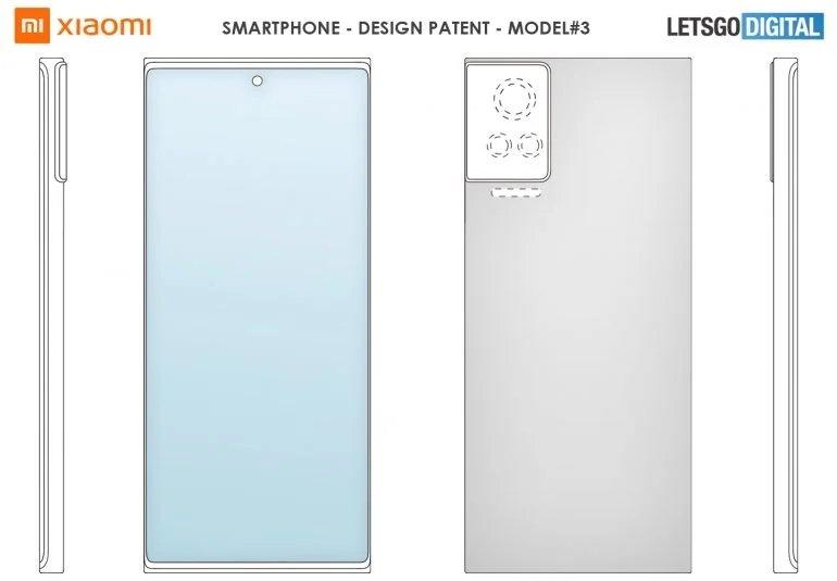 terceiro design da xiaomi câmaras smartphone