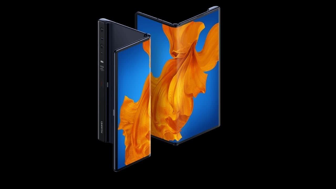 Huawei dispositivo dobrável